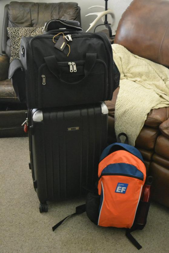 Have bags, will travel.