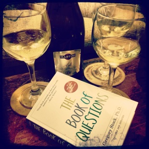 Moscato & Burning Questions...  What fun!!