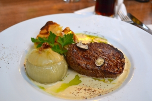 Coming in at the top three, this steak from Oliva Verde in Prague was so beautiful I just had to take a photo of it.