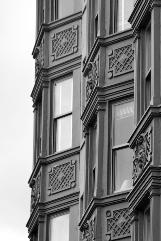 The architecture in D.C. is something anyone - architecture enthusiast or otherwise - can appreciate and marvel.  I tried to figure out how to process and crop this photo, and settled on this composition because it showed off the interesting shapes and details of the building.