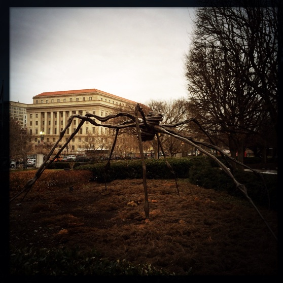 "Louise Bourgeois' ""Spider"" • National Gallery of Art Sculpture Garden"